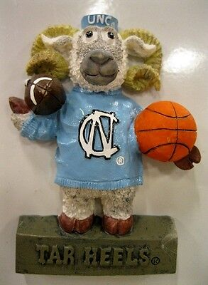 NORTH CAROLINA university Tar Heels Mascot ncaa college ceramic  MAGNET      ()