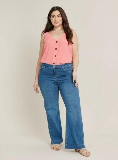 BNWT Ladies Ex Evans Ultra Stretch Skinny Jeans Extra Comfort Regular Leg 28
