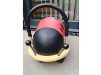 Wheely Bug Large Ride on Ladybird