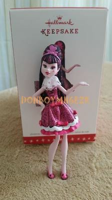 Hallmark 2016 Draculaura Monster High Christmas Ornament