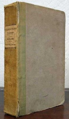 The Rev Richard . Cobbold / VALENTINE VERSES or Lines of Truth Love Signed 1st