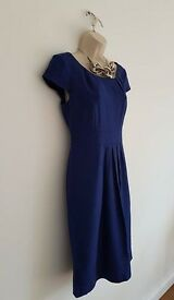 L.K Bennett Royal Blue Pencil Dress UK Size 10. BRAND New