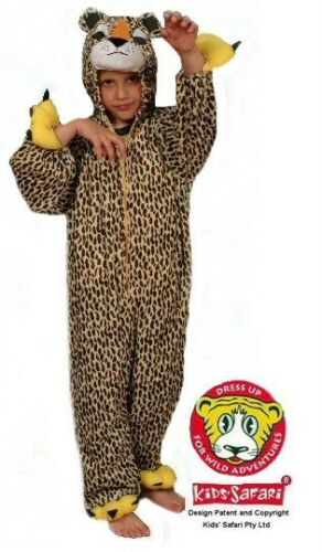 NEW-Kids-Safari-Plush-Full-Body-Hooded-Cheetah-  sc 1 st  eBay & NEW* Kids Safari Plush Full Body Hooded Cheetah Costume | eBay
