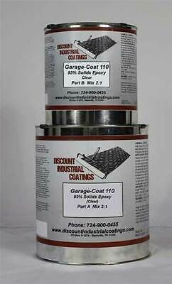 Garage-coat 110 Clear 2-part Epoxy Concrete Floor Coating 1.5 Gallons