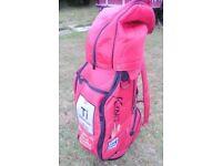 King Cobra Red Golf bag