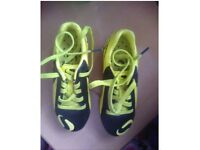 Boys football shoes size 10
