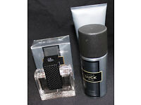 Avon Luck for Him Eau de Toilette plus body wash and deodorant. £11.00 (one left)