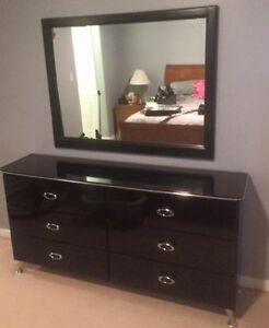 Dresser, Mirror & Night Table