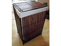 Wooden/Metal Washing Basket