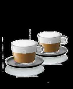Nespresso Glass Capuccino Cup Set