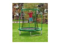 Chad Valley 6ft Trampoline and Enclosure brand new sealed unwanted £55 newington pick up