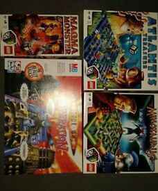 3 x Lego games & Doctor Who Operation
