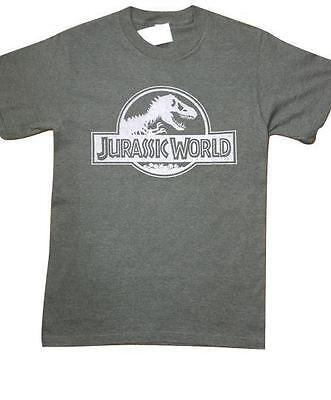 NEW SIZE SMALL JURASSIC WORLD SOFT CASUAL ARMY GREEN TRENDY MENS SHIRT