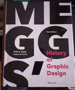 Meggs' history of Graphic Design textbook Windsor Region Ontario image 1