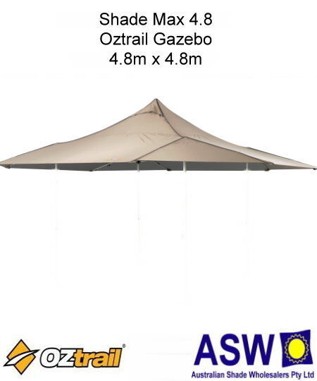 Replacement Roof Canopy 3m x 3m, Beige 300 Denier