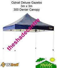 Oztrail 3m x 3m Deluxe Gazebo Navy Blue *BRAND NEW* Brendale Pine Rivers Area Preview