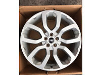 """NEARLY NEW ORGINAL GENUINE 2016 RANGEROVER 22"""" ALLOY WHEELS- AUTOBIOGRAPHY L405 L494 LAND ROVER"""