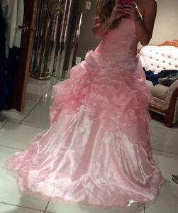 Soft Pink Grad Dress
