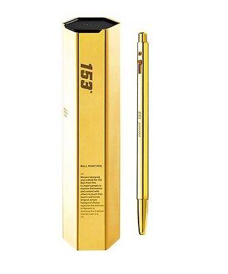 KOREA MONAMI 153 Ballpoint Pen Limted Edition Yellow Gold Color KOREA Ballpen