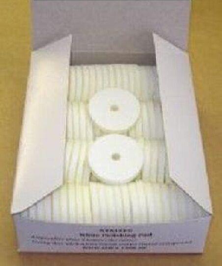 100 Original Simo ZDag 101 White Polishing Pads NEW