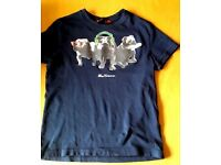 Boys Ben Sherman Bulldog t-shirt