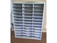 Fellowes 36 compartment A4 Pigeon Hole paper storage