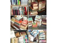 Clear-out of books, some high value, great lot for sellers, £40 for the lot.