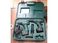 Bosch Cordless Combi Drill & Driver Twin Pack.