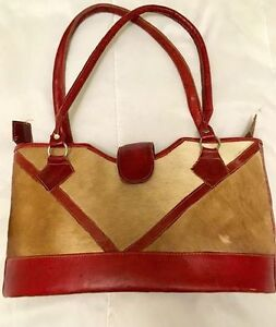 Cowhide & Leather Purse