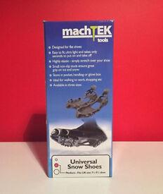 Machtek Universal Snow Shoes - Size 7.5 - 9.5