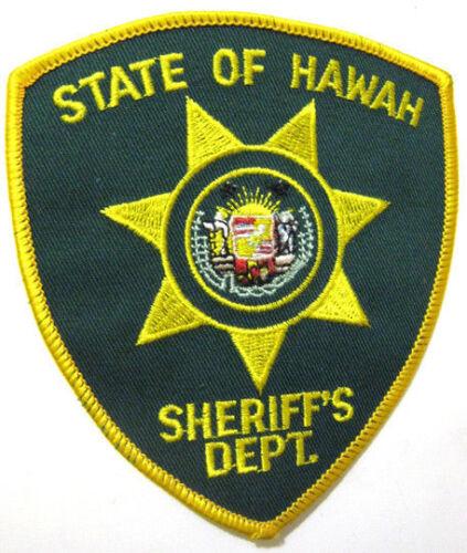 State of Hawaii Sheriff
