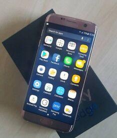 Samsung galaxy S7 edge rose gold unlocked