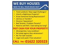WE BUY HOUSES - Need to sell your property FAST?