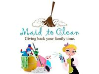 If you are looking for a cleaner I can help you