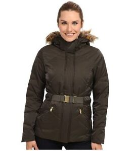 XS Authentic Mint North Face Ladies Down Parka/Jacket