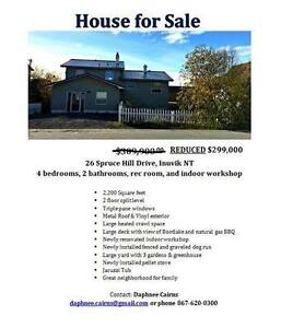 House For Sale - Inuvik, NT