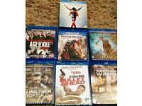 BLU-RAY'S Movies 7 in total