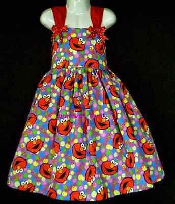 NEW Handmade Sesame Street Elmo Dots Purple Sun - Sesame Street Kleider