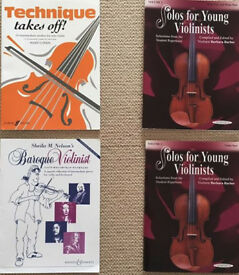 Violin study books Grade 4 or 5