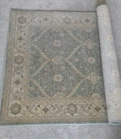 Large Shabby Chic Traditional Laura Ashley Style Rug 120cm X 160cm Beautiful As New