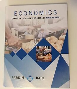 Economics Canada in the Global Environment Ninth edition