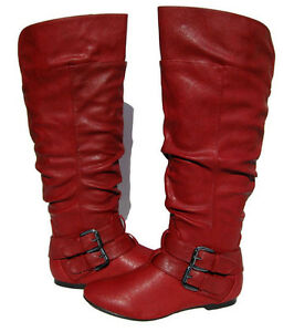 Original Details About Fly London Mes Red Womens New Cheap Winter Boots Shoes