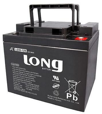Batería para silla/moto eléctrica LONG Gel Ciclo Profundo LG50-12N 12V 50Ah