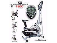 Fitnessform® P1100 Cross Trainer 2-in-1 Fitness Elliptical Exercise Bike