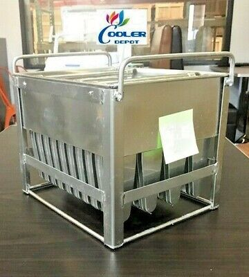 New 40 Popsicle Mold Popsicle Ice Cream Machine Maker Popsicle Freezer Casemo6