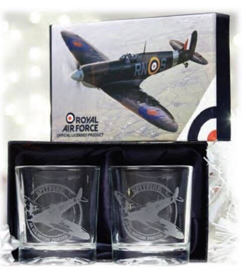 Spitfire Whisky Glasses