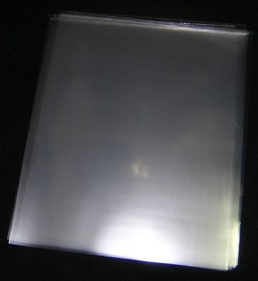 20 ACID-FREE, CRYSTAL CLEAR, PLASTIC SHEET PROTECTORS
