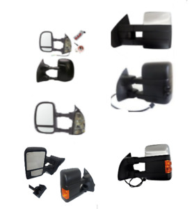 TOW MIRRORS SIDE MIRRORS FITS FORD F150 FORD F250 F350 F450