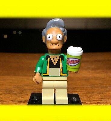rie 1 Apu Nahasapeemapetilon Echt Minifigur #71005 (Die Simpsons Apu)