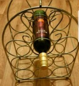 Metal wine stand / rack * Free standing